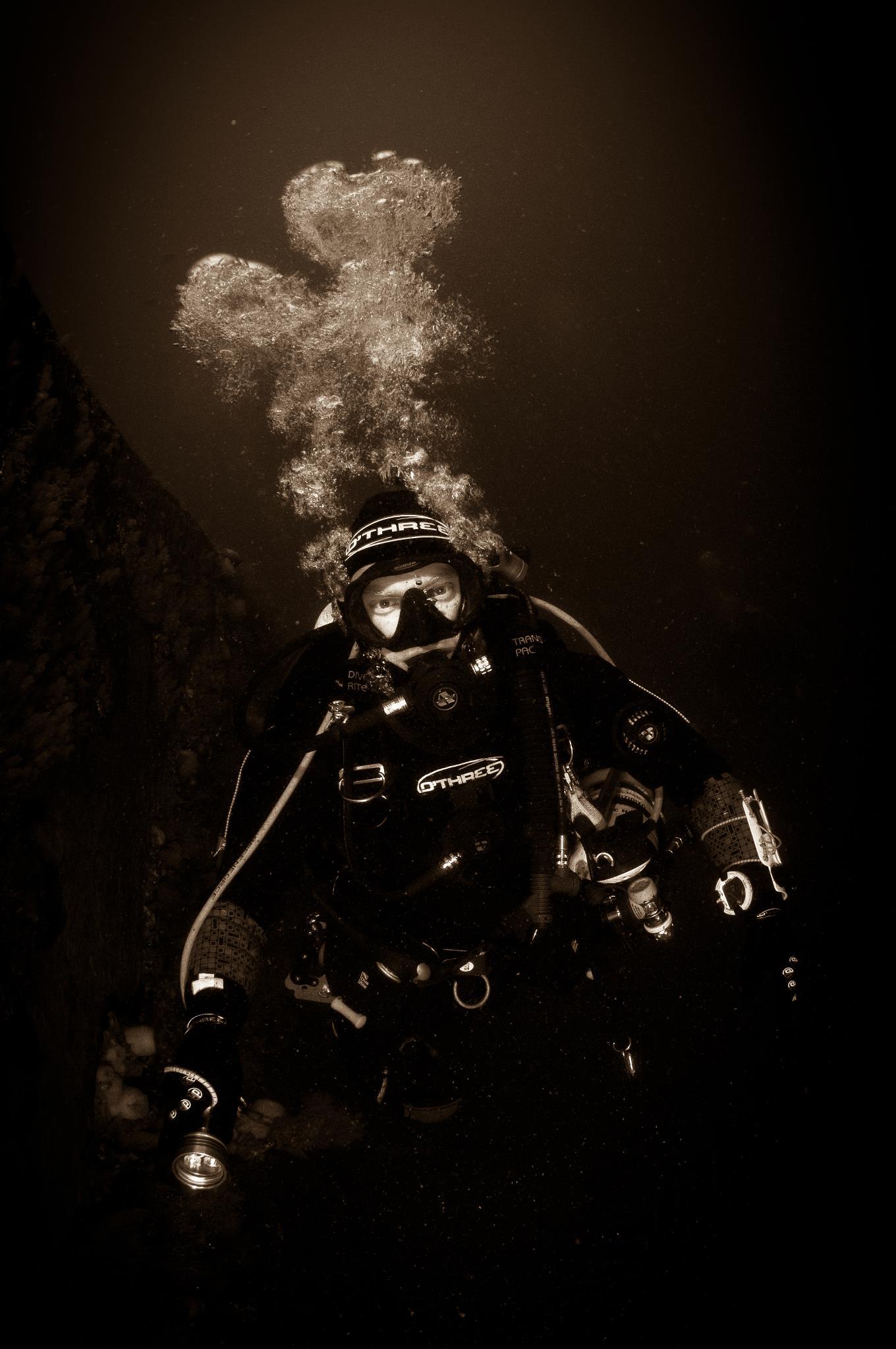 Droogpak pacific diving
