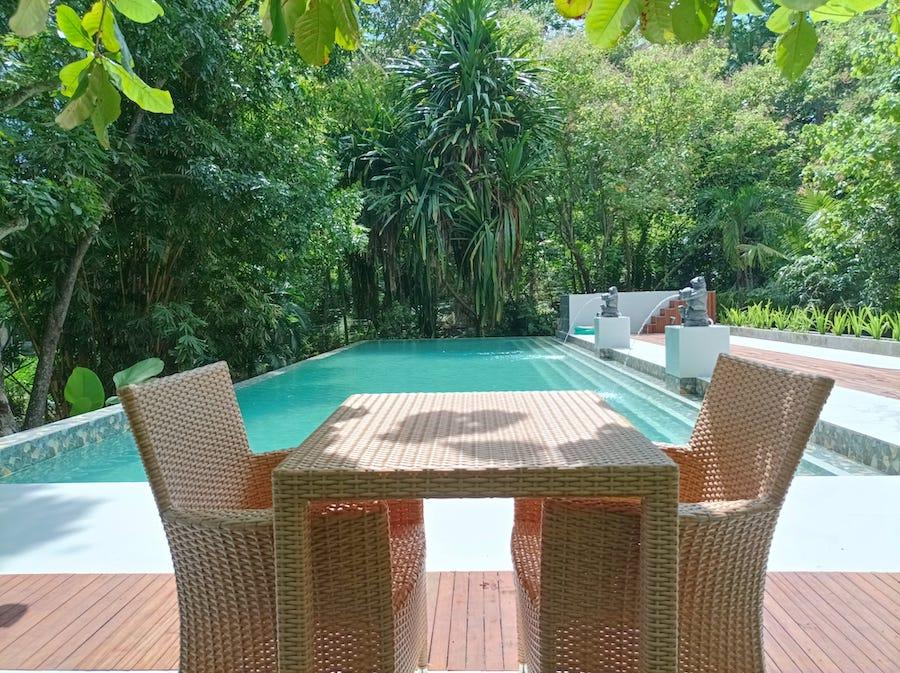 New Pool Napo Tongkaina